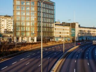 Väg E18N – Stocksund – Arninge – Etapp 1